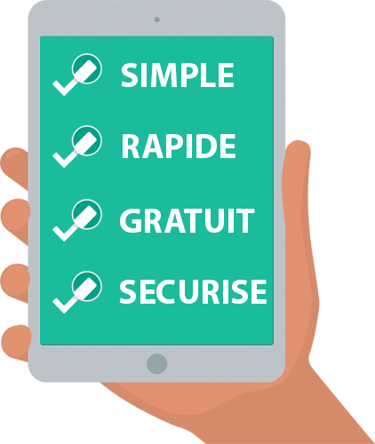 Simple Gratuit Rapide Securise
